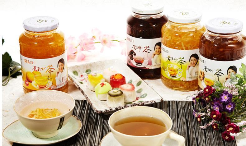 유자와 달콤한 꿀의 만남!