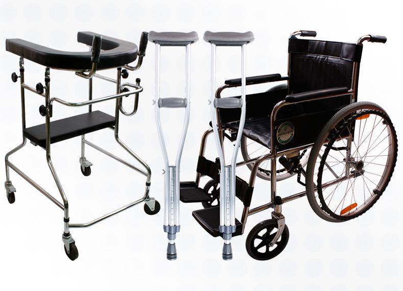 목발/휠체어/보행보조