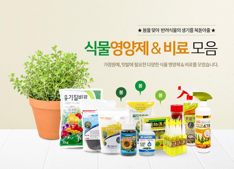 식물 영양제 모음전