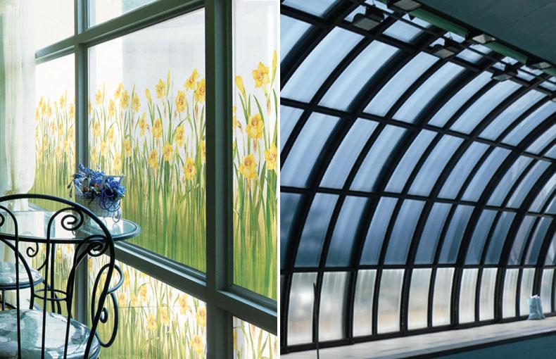 햇비차단, 열차단, 시선차단, 사생활보호, 창문보호 유리시트지